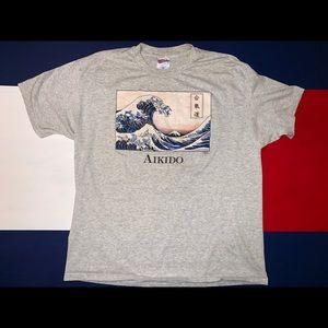 Vintage Aikido shirt